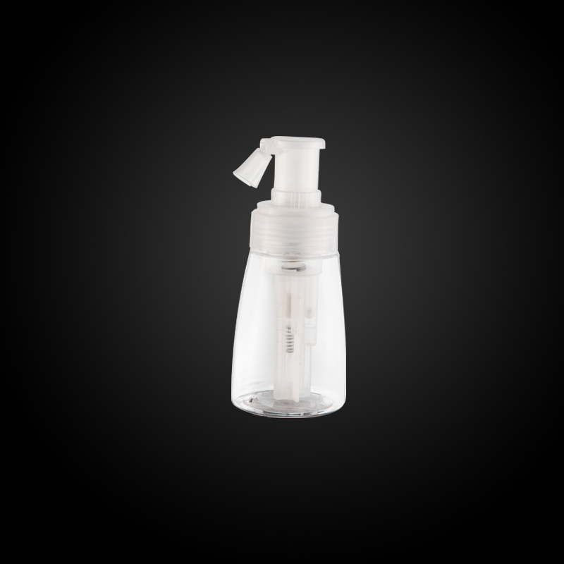 How to fill cosmetic vacuum bottle