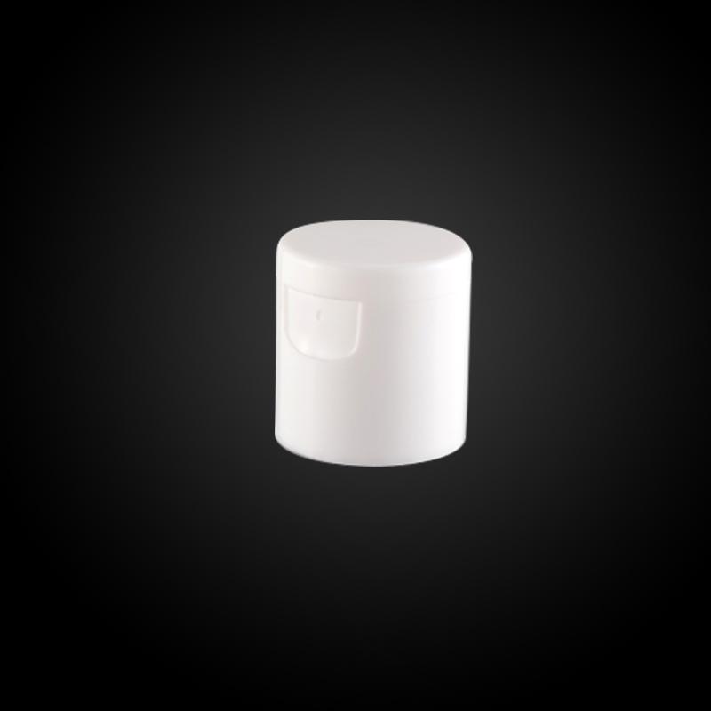 flip top cap for plastic tube