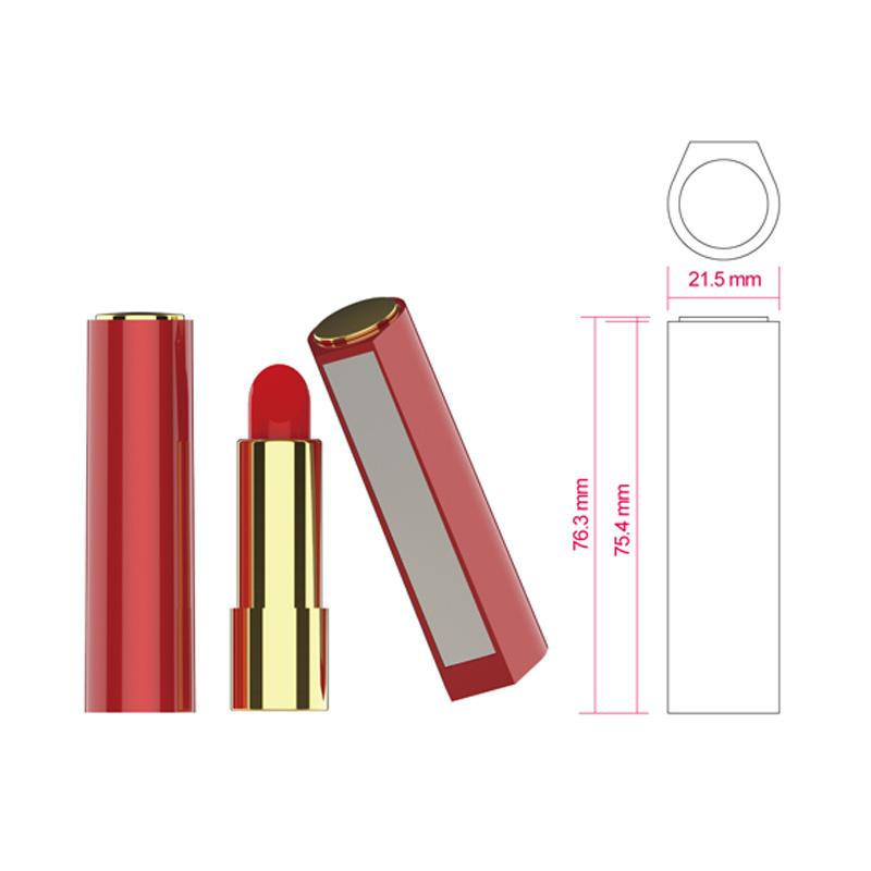 Empty lipstick tube-FRKH8055